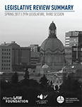Legislative Summary | Spring 2017